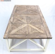 DIY Parquet Coffee Table Plans - Rogue Engineer 3