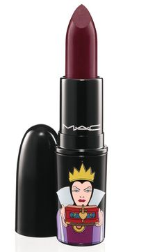 Pin for Later: 230 of the Best Collaboration Products MAC Has Ever Created MAC Cosmetics x Venomous Villains: Evil Queen Lipstick in Sinister