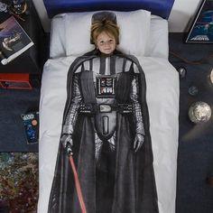 Hoe gaaf is dit dekbedovertrek!!! Nu te koop: SNURK Darth Vader dekbedovertrek