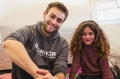 The idea of being forced to flee home is unimaginable, let alone having to do so as a child. Yet more than half of all refugees and… Douglas Booth, Hot Guys, Eye Candy, Let It Be, Mens Fashion, Children, Instagram, Character Inspiration, Moda Masculina