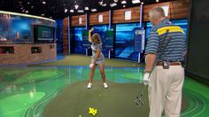 Martin Hall explains the proper way to release the golf club at impact.