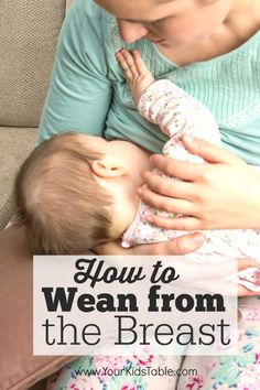There is a lot of conflicting information about breast weaning, which is often an emotional time . This guide from a 3 time mom and OT gives clear steps and allows you to set your own pace.