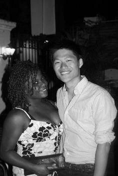 Cute interracial couple #love #ambw #bwam