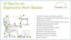 Ergonomic work space