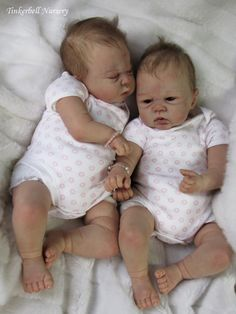 Celebrity real life twins dolls