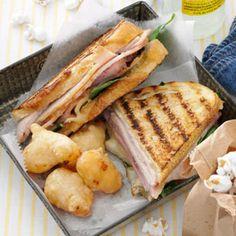 HOME RUN Cuban Panini - inspired by the Ybor City Cuban Sandwich at Tropicana Field - Tampa Bay Devil Rays