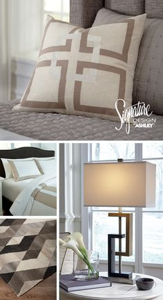 Sebec Pillow   Geometric And Linear Home Accents   Home Accessories    Ashley Furniture   #