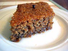 Greek Sweets, Greek Desserts, Greek Recipes, Vegan Desserts, Greek Cake, Cake Mixture, Walnut Cake, Greek Dishes, Spice Cake