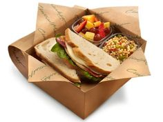 72 Best Boxed Lunch Catering images in 2015 | Lunch catering