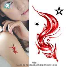 Online Buy Wholesale fox tattoo from China fox tattoo Wholesalers ...