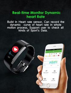 f951da5719b NRF52832 Ақылды Білезік Қан қысымын өлшейтін смартфон Heart Rate Smartwatch  Skype Whatsapp Social Alert Clock 2018