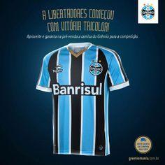 Gremio 2014 Copa Libertadores Topper Home Shirt df1b4199b0528