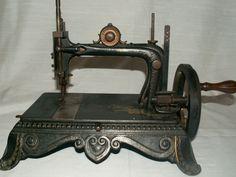 "ANTIQUE ""ORIGINAL BRUNONIA"" SEWING MACHINE CIRCA 1870-1880 VERY RARE"