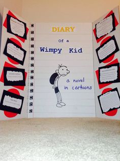 Diary of a Wimpy Kid project