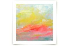 Summer Clouds by Lindsay Megahed at minted.com