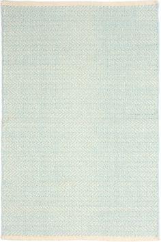 Hallway $109 Herringbone Sky Woven Cotton Rug