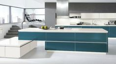 stylish-kitchen-with-smart-teal-blue-islands