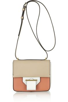 Reed Krakoff | Standard color-block leather shoulder bag | NET-A-PORTER.COM