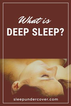 Natural Sleep Remedy - WHAT IS DEEP SLEEP - There are a few things you can do to make sure you get enough deep sleep, the most important thing is to make sure that you get enough sleep in total. Insomnia Remedies, Natural Sleep Remedies, Natural Sleeping Pills, Good Night Sleep, You Can Do, Sweet Dreams, Read More, Health And Beauty