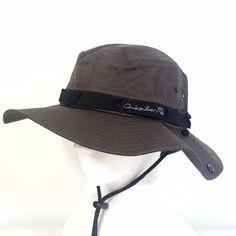 Men's Outdoor Fishing Hiking Outback Safari Sun Hat Cap Wide Brim - Quiksilver #Quiksilver #BaseballCap