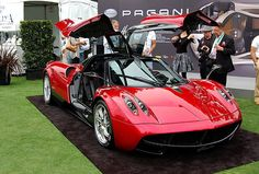 The recently unveiled Pagani Huayra has been denied entry in the US after the National Highway Traffic Safety Administration refused to give it an exemption to the US design rule which states all cars much have an advanced airbag. It's predicted to cost Pagani around 3.2 million euros ($4.45 million) to develop the airbags for the new supercar...