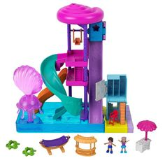 Paw Patrol, Toys R Us, Bars Tiki, Polly Pocket Dolls, Animation Disney, Sheriff Woody, Lifeguard Chair, Splash Park, Water Slides
