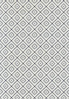Kozar #fabric in #navy and #white from the Jubilee collection. #Thibaut