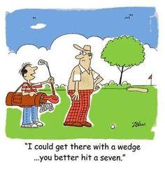 Golf Humor.Golf Jokes,Golf Cartoons,Golf Quotes.Zahn Cartoon #14