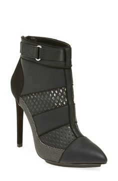 gx by GWEN STEFANI 'Cargo' Pointy Toe Bootie (Women) available at #Nordstrom