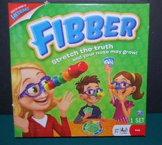 Fibber Board Game Stretch the Truth Ages 7+ #SpinMasterGames