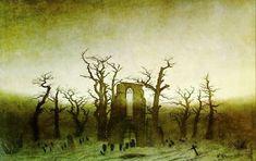 «утро в горах», каспар давид фридрих — описание картины - Галерея