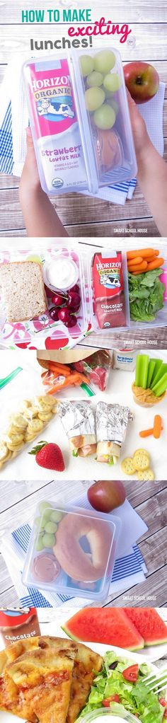 Healthy Back to School Lunches you can prep the night before to make the morning routine a little easier. Plus the kids have healthy food to keep them energized and  help get them through the day!