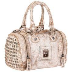 FRYE Brooke Small Satchel,White,One Size $248.00