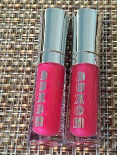 """Bare Minerals BUXOM LIPS Full On Lip Polish Gloss x 2  """"JULIE"""" Pink Watermelon…"""