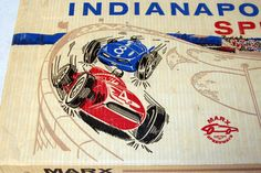 Vintage 1960 Indianapolis Special Slot Car Track by HouseofAwesome
