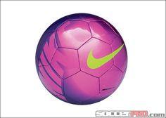 Nike Mercurial Mach Soccer Ball (Fireberry/Pink/Green) love these colors! Nike Soccer Ball, Girls Soccer Cleats, Soccer Gear, Football Gear, Play Soccer, Football Fans, Soccer Stuff, Football Boots, Watch Football