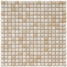 Merola Tile Rustica Mini Perla Bone 12 in. x 12 in. x 6 mm Porcelain Mosaic Tile