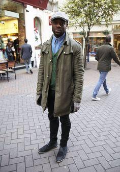 Mens London Street Style - November 2014