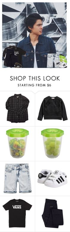 """""""Sweet pea"""" by e-xoticcreature ❤ liked on Polyvore featuring Bonpoint, Gerber, Molo, adidas, Vans, Givenchy, men's fashion and menswear"""