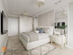 Фото интерьер спальни из проекта «Интерьер квартиры в классическом стиле в ЖК «Времена года», 61 кв.м.»