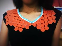orange collar diy