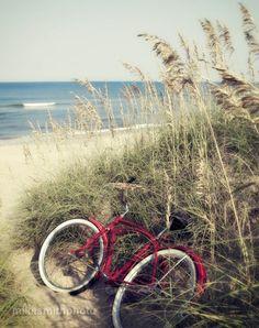 Red Beach Cruiser