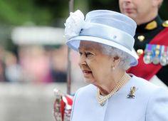 Queen Elizabeth II visits Balmoral Castle during her summer holiday.