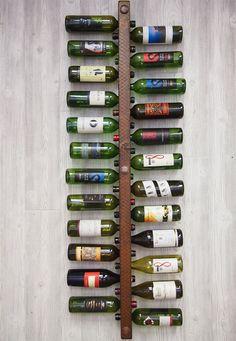 Vertical Wine Rack 24 Bottle High Capacity by VetrinaDelVino, $110.00