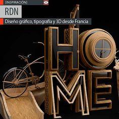 Diseño gráfico, tipografía y 3D con RDN Excelente y variado portafolio desde Francia.  Leer más: http://www.colectivobicicleta.com/2013/07/3D-de-RDN.html#ixzz2ZziTFTwI
