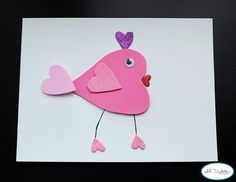 Cute Valentine Craft and matching lunch ... Check it out.. perfect for Valentines day.. <3