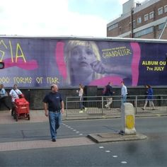 Maddie Ziegler in London!!! JK! Maddie's on a billboard in London! How awesome is that?