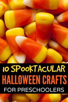 If you're looking for Halloween boredom busters for your kids you will love this collection of adorable (and easy!) Halloween crafts for preschoolers!