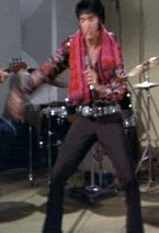 {*Sexy Elvis GIF :) doing what he does best*}