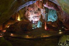 Emine Bair Hosar Cave, Crimea, Ukraine